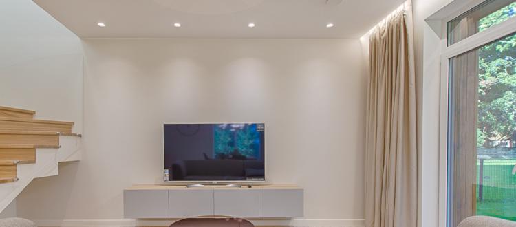 Planung, Lieferung und Montage von Wohnraum Beleuchtung in Wien durch Elektro Mayer