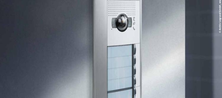 Türsprechanalge für Mehrparteienhaus in Wien von Elektro Mayer